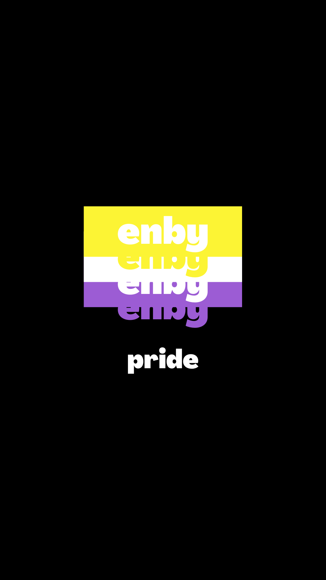 Enby Pride Aesthetics Non Binary Wallpaper In 2020 Emotional Pictures Pride Gender Nonconforming