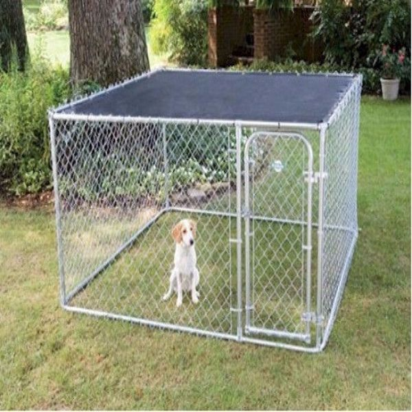 10x10x6 Foot Classic Galvanized Outdoor Dog Kennel For Sale Buy 10x10x6 Foot C 10x10x6 Foot Classic Galv In 2020 Dog Kennels For Sale Dog Kennel Outdoor