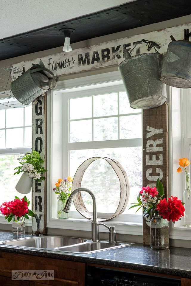 Funky Junk\'s 2015 Summer Home Junk Tour! | Funky junk, Decorating ...