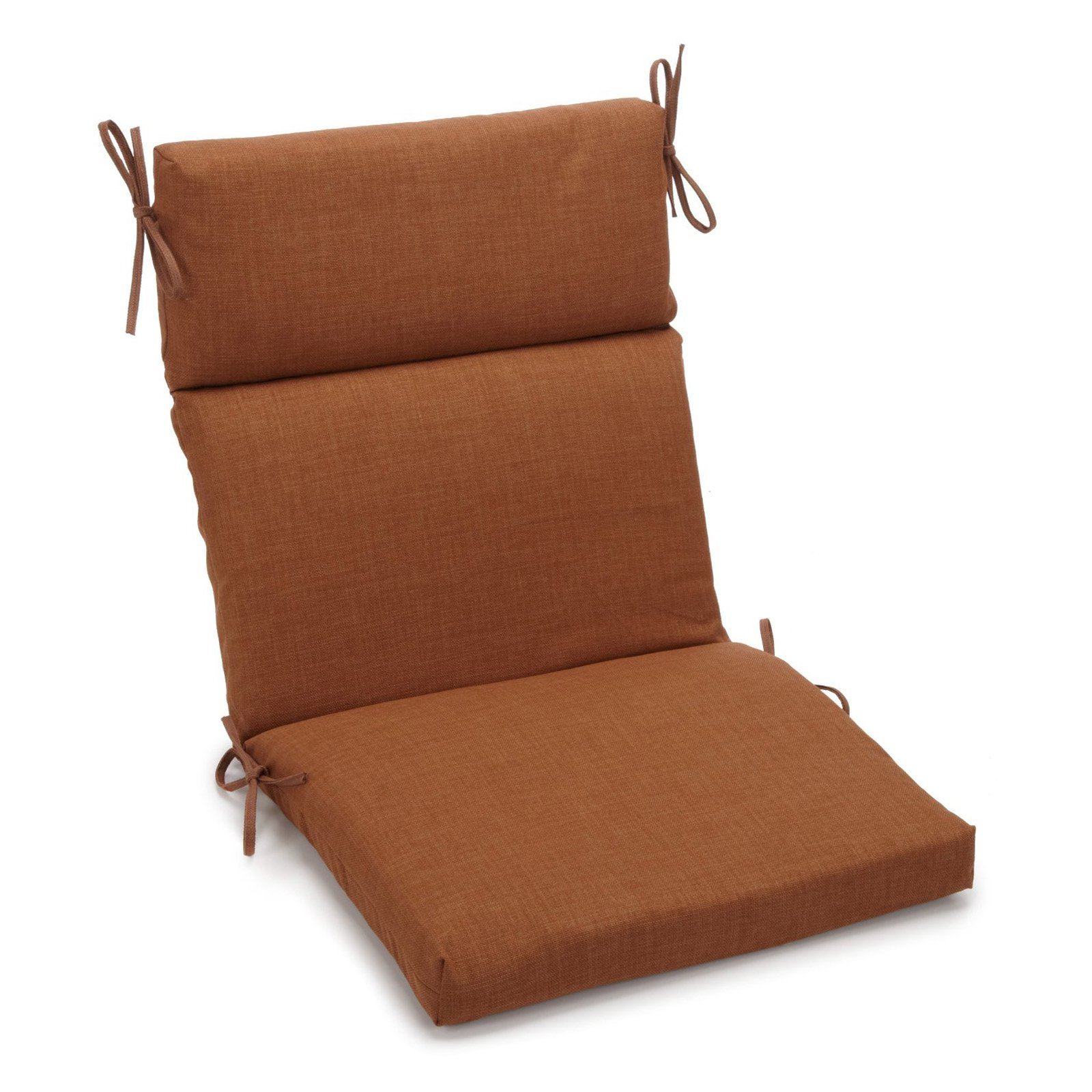 Blazing Needles Outdoor 3 Section 19 X 42 In High Back Patio Chair