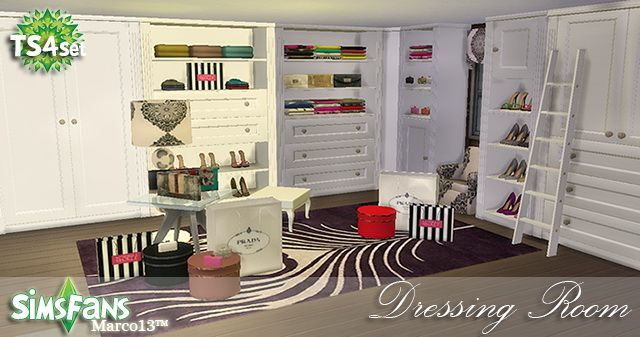 Dressing Room Conversion By Marco13 At Sims Fans Sims 4