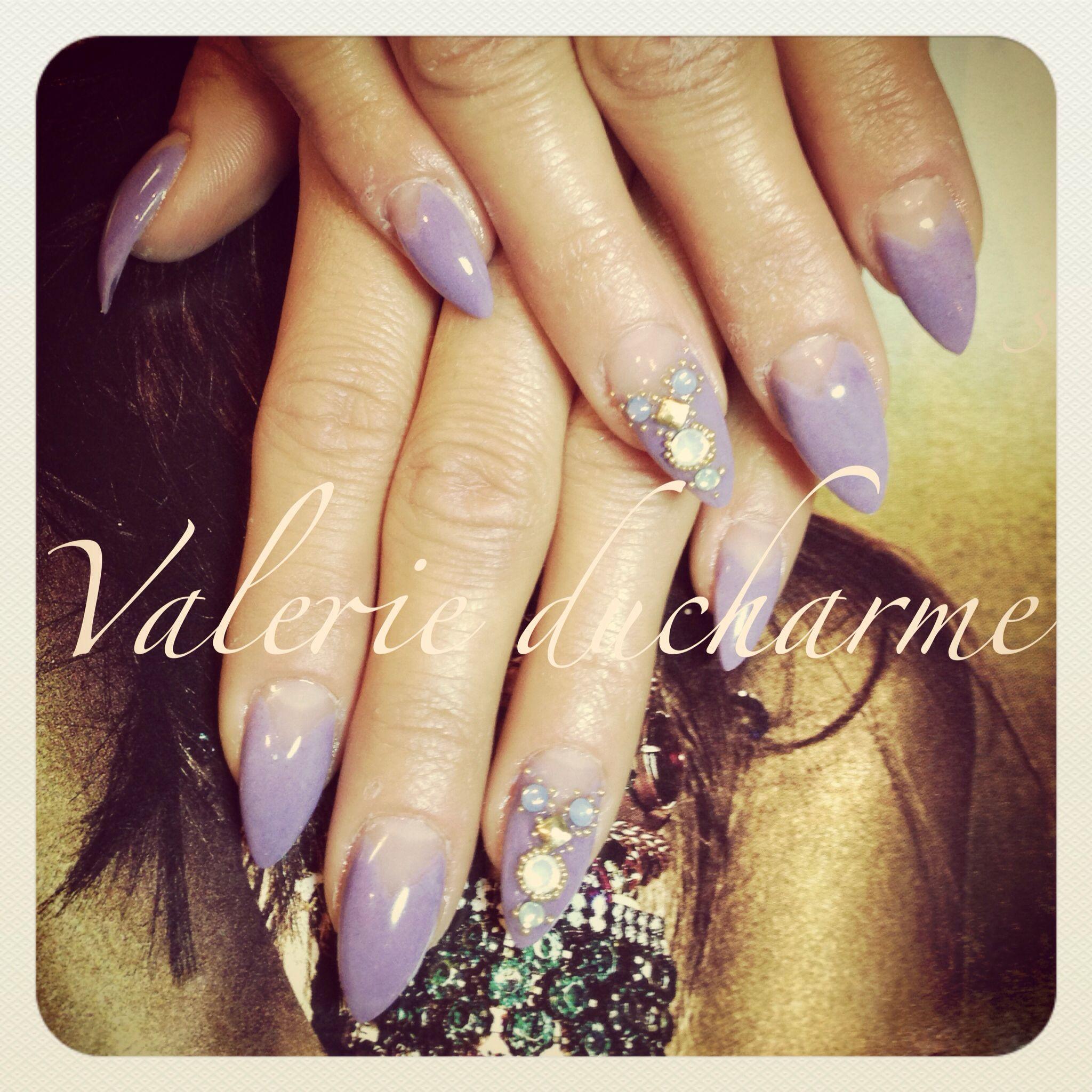 By valérie Ducharme at studio 2075, nails art nail design ...