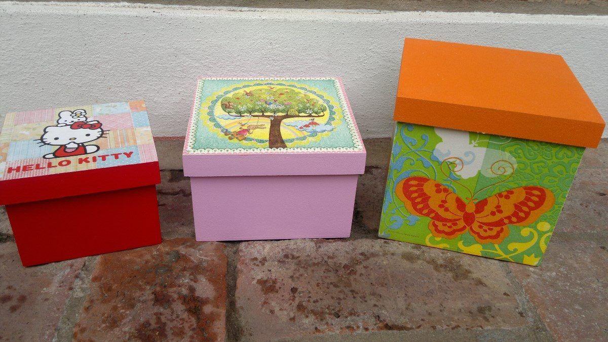 Cajas decoradas tecnica vintage buscar con google - Cajas grandes de carton decoradas ...