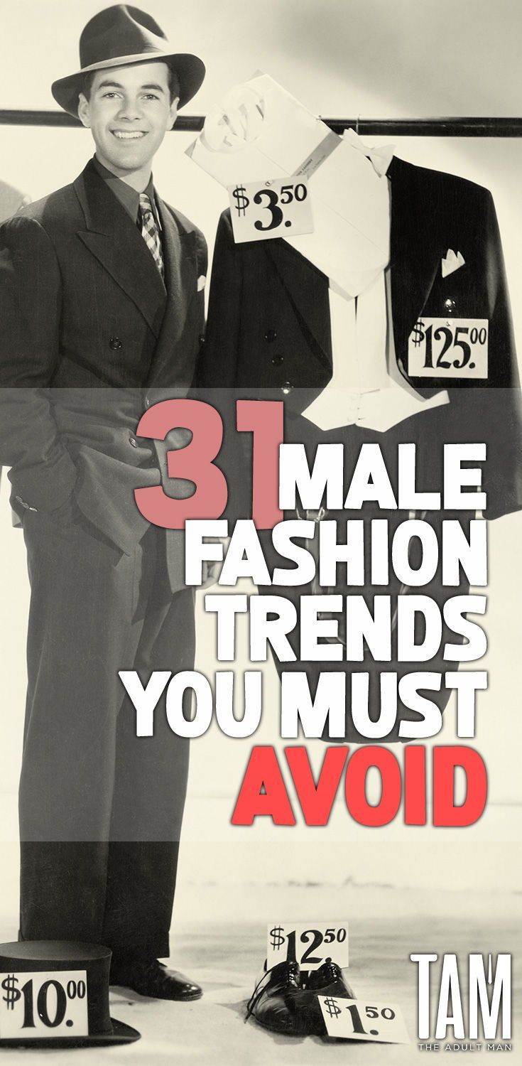 84dfb8979 From the fedora to the spiky belt. CLICK HERE to discover the worst   malefashion offenders of recent memory that we hope stay dead and buried.
