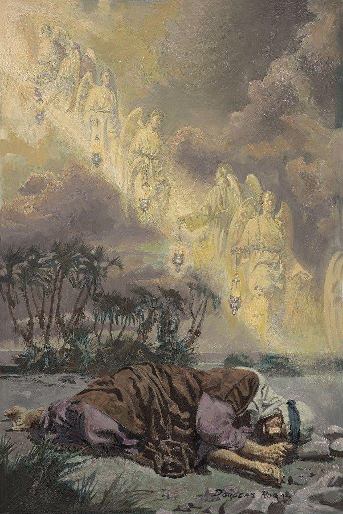 jacobs ladder | Click on image to enlarge | Biblical art ...
