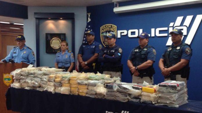 F.U.R.A. ocupa 11 fardos de cocaína en Vega Baja