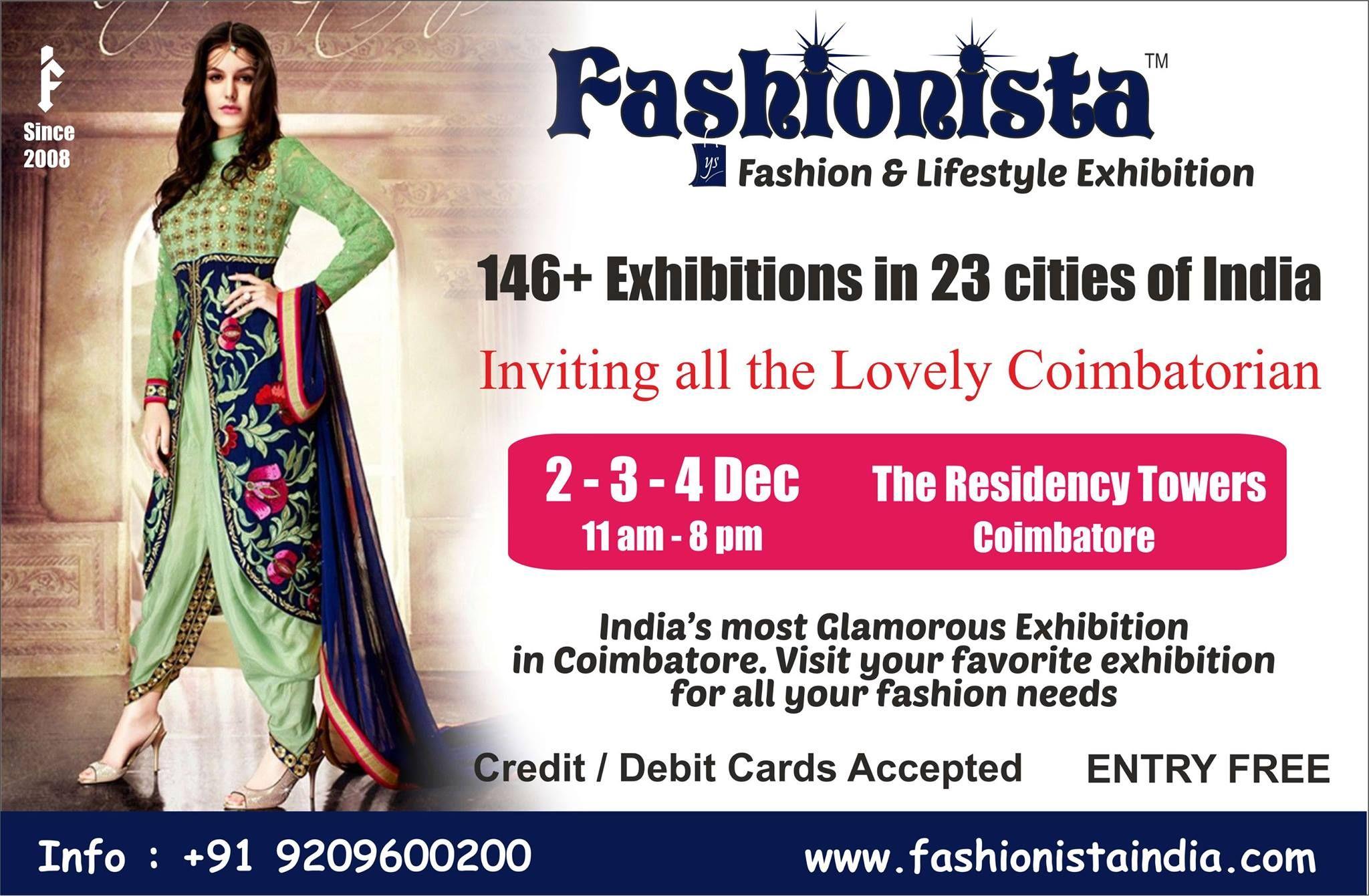 Q: What's better than a Fashion Exhibition? A: A Fashion