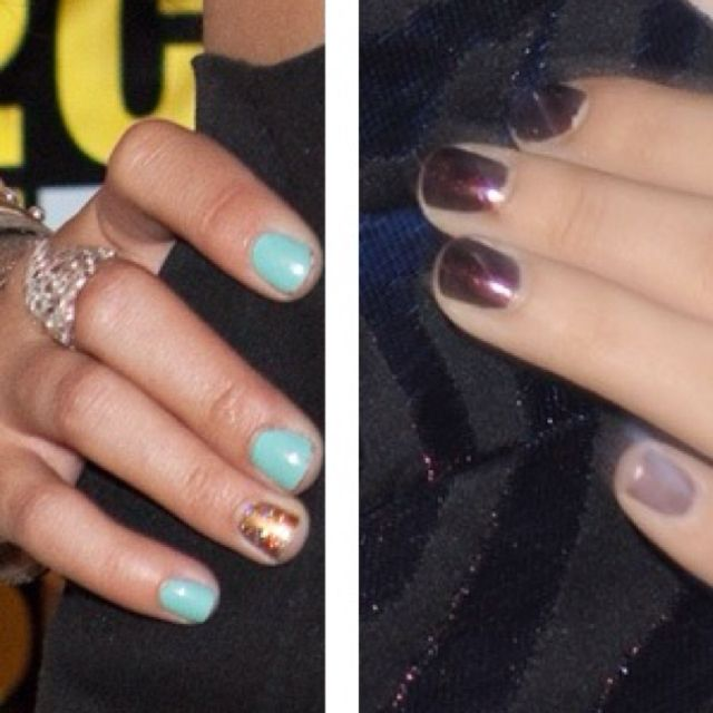 Painting one nail different color, LOVE!   Nails   Pinterest