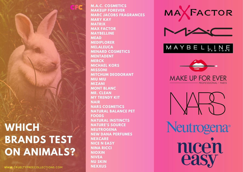 12++ Makeup brands that test on animals ideas