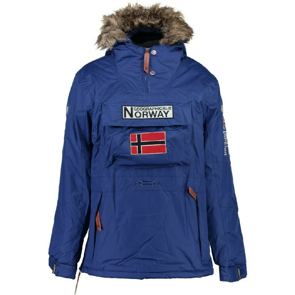 Geographical Norway Parka Hombre Boomerang B Negro M