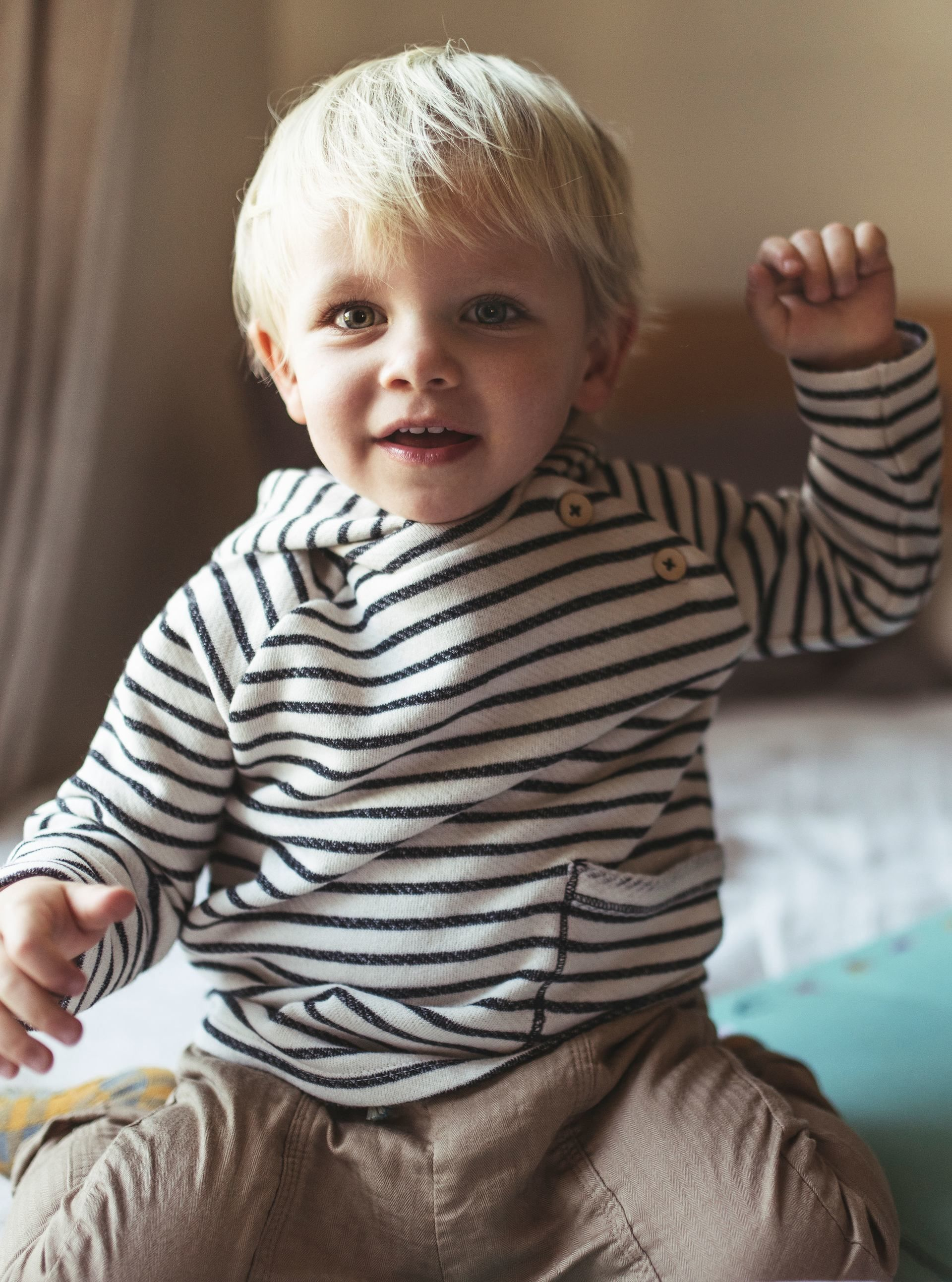 Image 1 Of From Zara With Images Blonde Baby Boy Blonde
