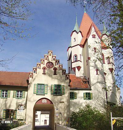 Foto Schloss Kaltenberg Urlaub Bayern Urlaub Burg