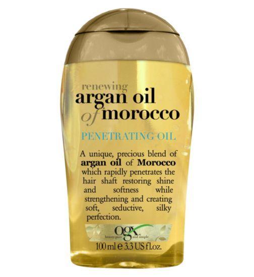 Organix Renewing Moroccan Argan Oil Penetrating Oil 100ml Boots