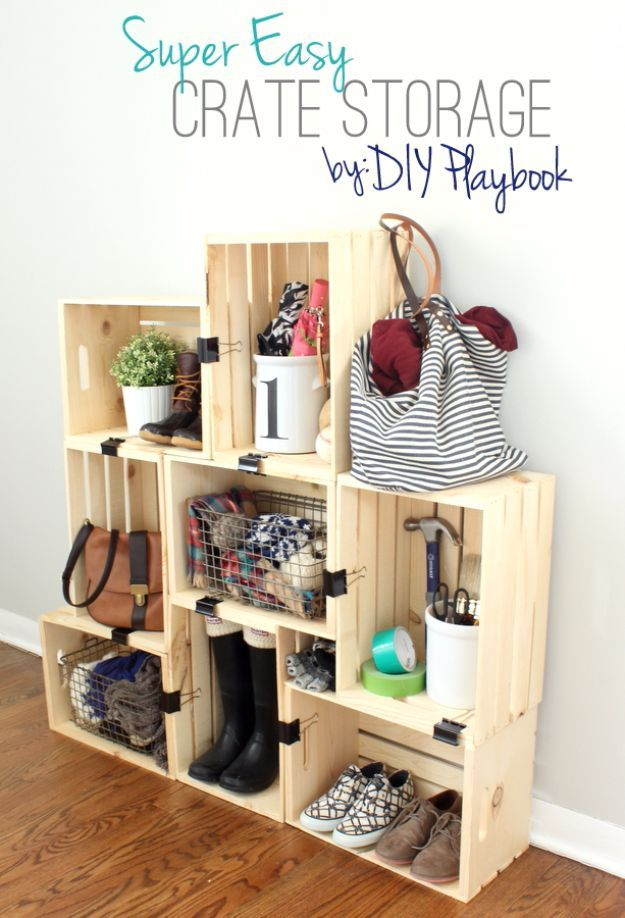 43 most awesome diy decor ideas for teen girls diy teen Easy diy storage ideas for small homes