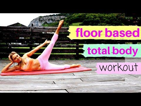 home fitness  low impact floor based totalbody workout