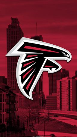 Atlanta Falcons Mobile City Wallpaper Atlanta Falcons Logo Atlanta Falcons Football Atlanta Falcons Wallpaper