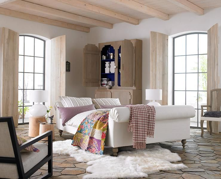 Mediterraner Einrichtungsstil - Materialien, Farben und - wohnzimmer farben landhausstil