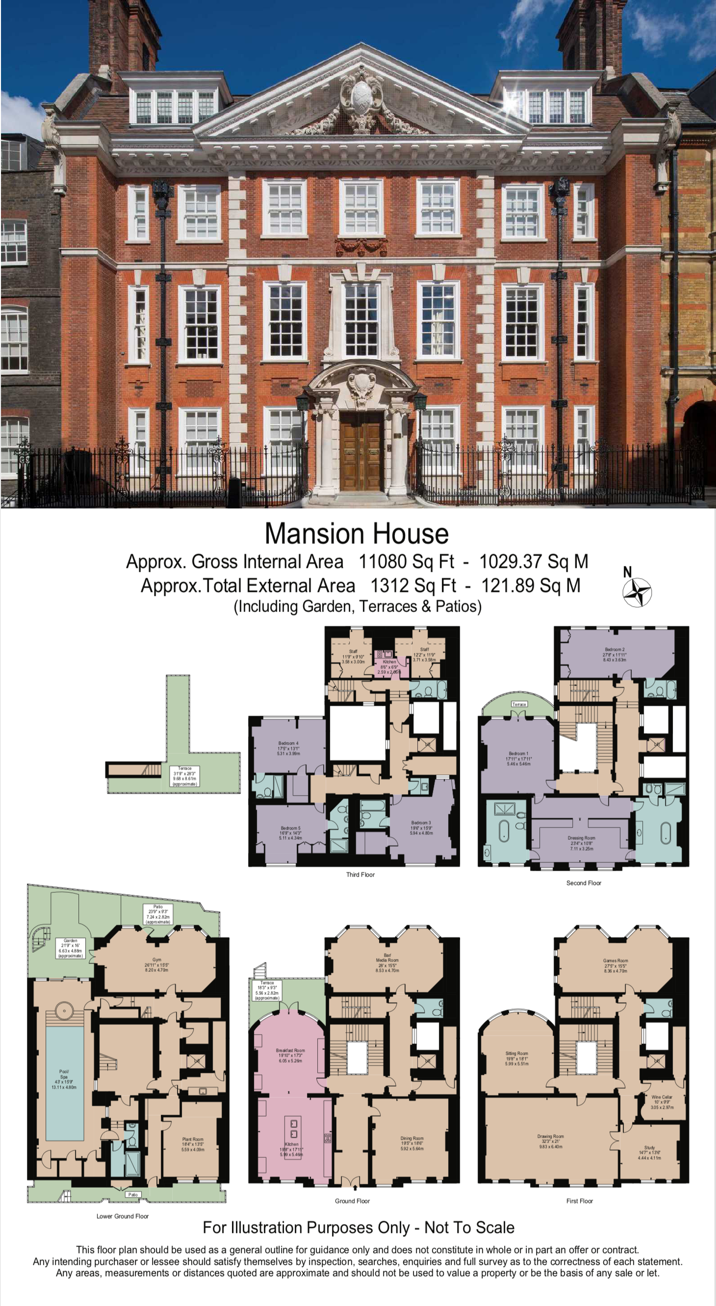 7 Bedroom Property For Sale In Mansion House Westminster Sw1p 29 950 000 House Plans Mansion Vintage House Plans Mansion Floor Plan
