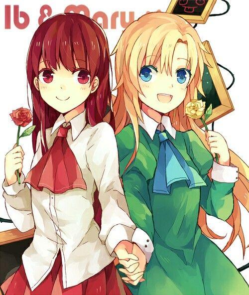 Ib and Mary :3   Ib   Rpg horror games, Anime, Rpg