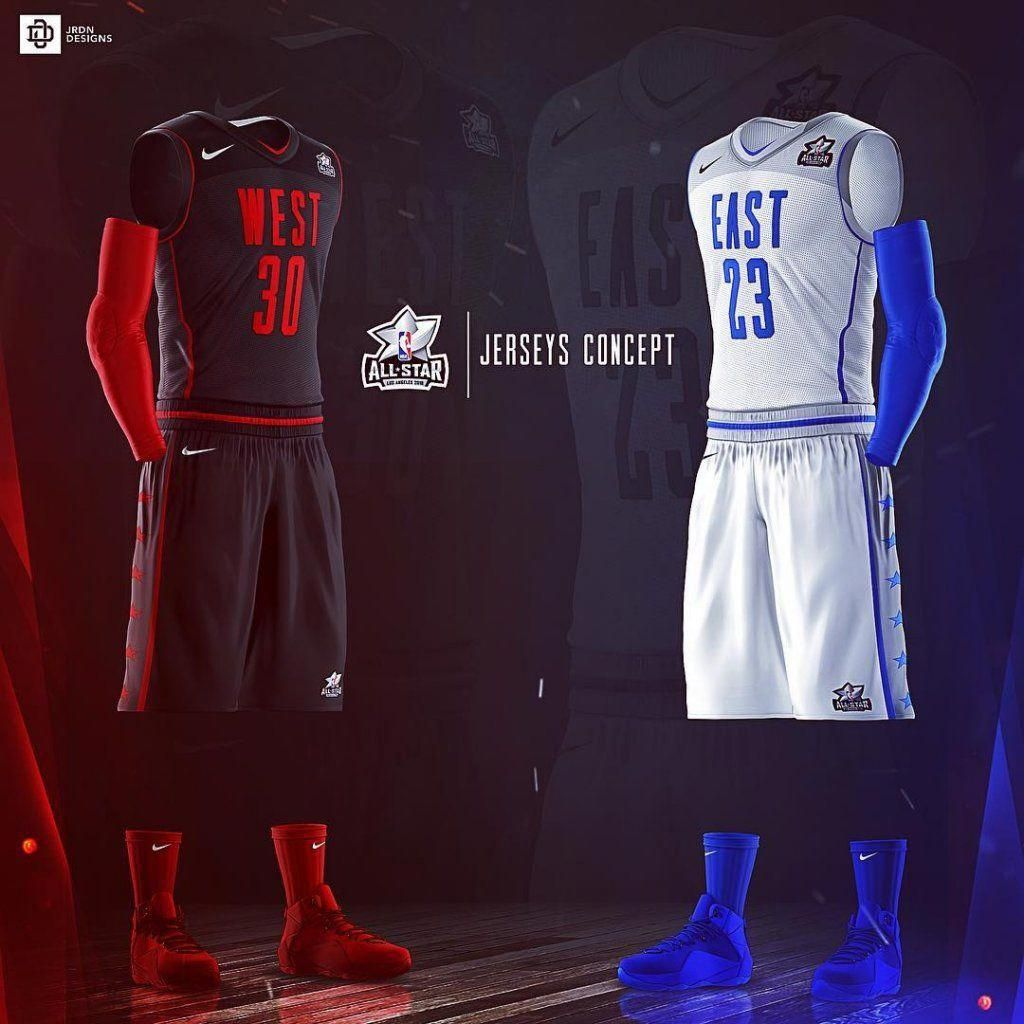 537a45e1d7e Take a look at these awesome basketball jerseys concepts. Design by  @jrdn_designs. 🏀