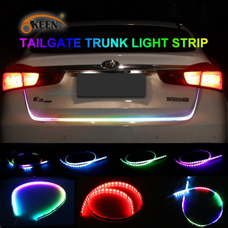 Automotive Led Light Strips Gorgeous Car Led Light Strips  Check Discount Okeen 476Inch Carstyling Design Inspiration