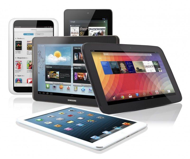 Venta de tablets en 2013: Apple continúa como líder del mercado