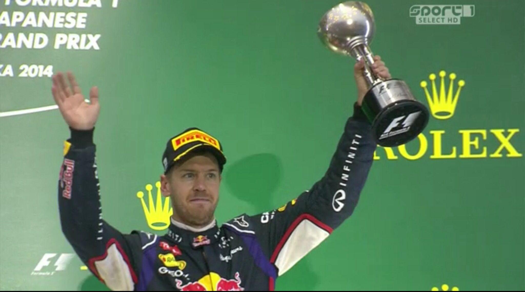 Vettel GP Japan 2014
