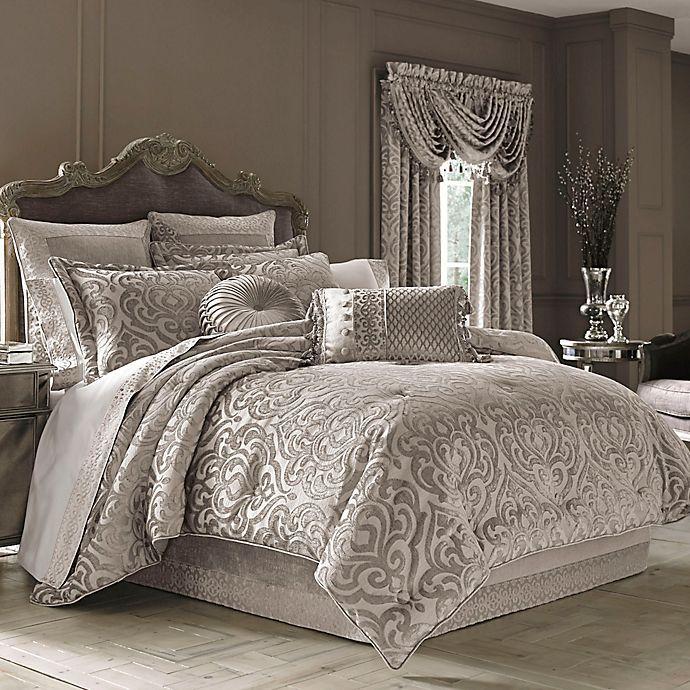 J. Queen New York™ Sicily Comforter Set in Pearl in 2020