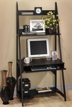 Ladder computer desk for the office? | computer room | Pinterest ...