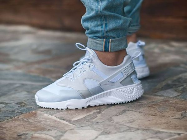 Nike Air Huarache Utility White White White   Footshop