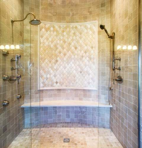 I like the idea, but not so much how the shower heads are arranged.