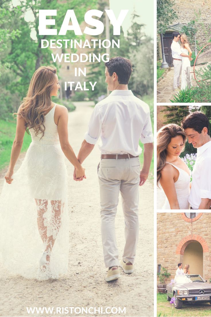 Plan An Easy Destination Wedding In Italy It Can Be Done