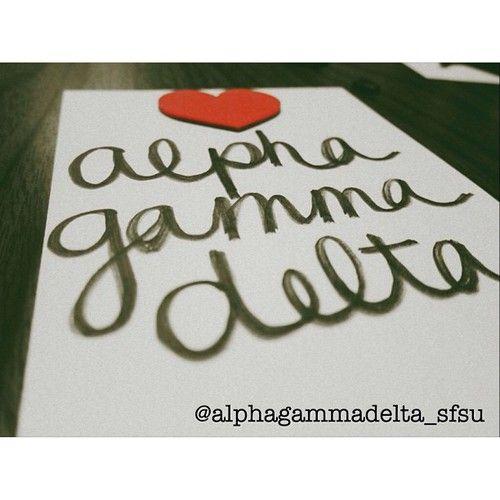 Merry Monday ❤    #alphagammadeltalove #alphagamgram #alphagammadeltasfsu #alphagammadelta #agd