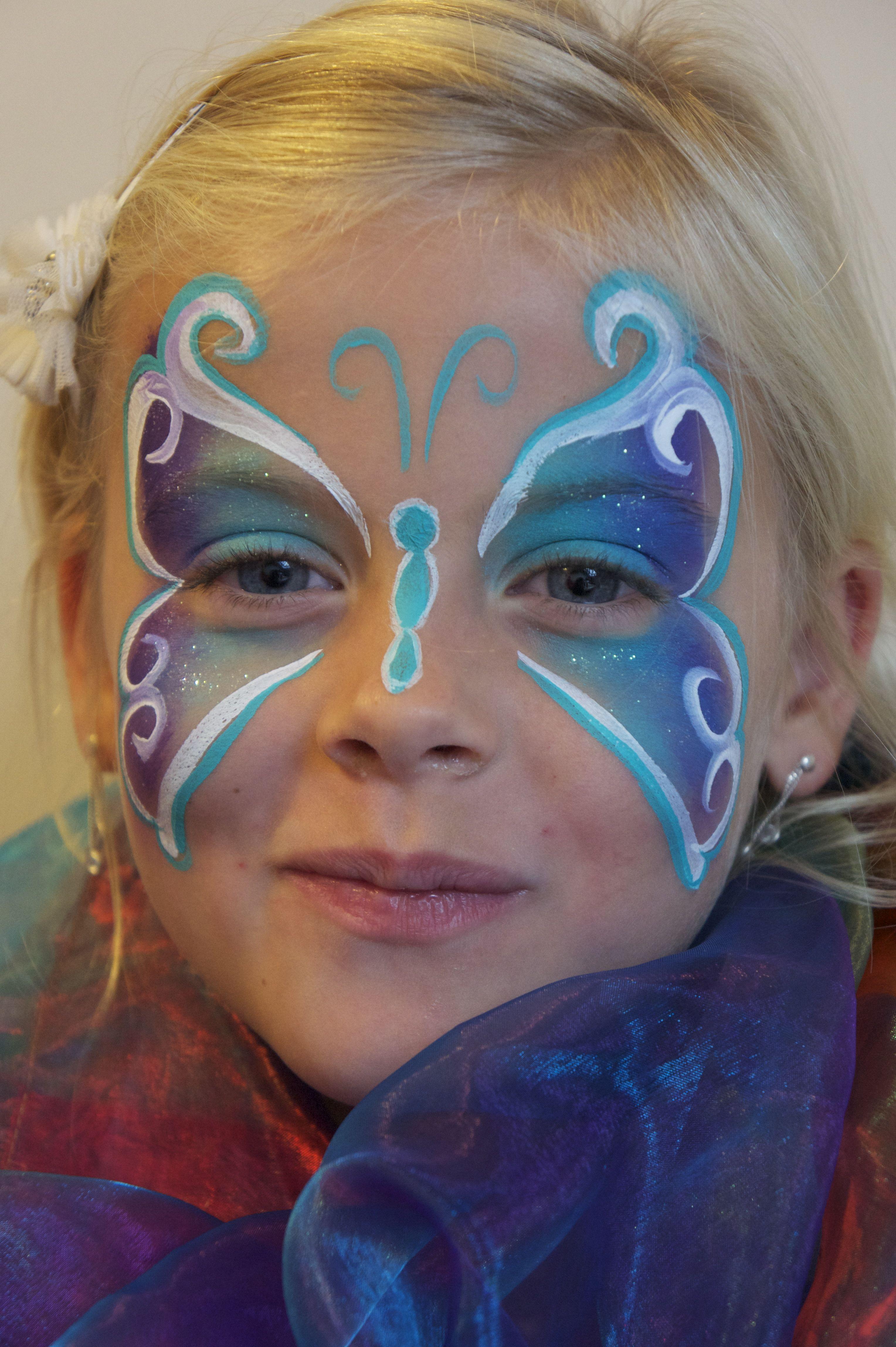 En Nog Meer Vlinders Face Painting Girl Face Painting Face