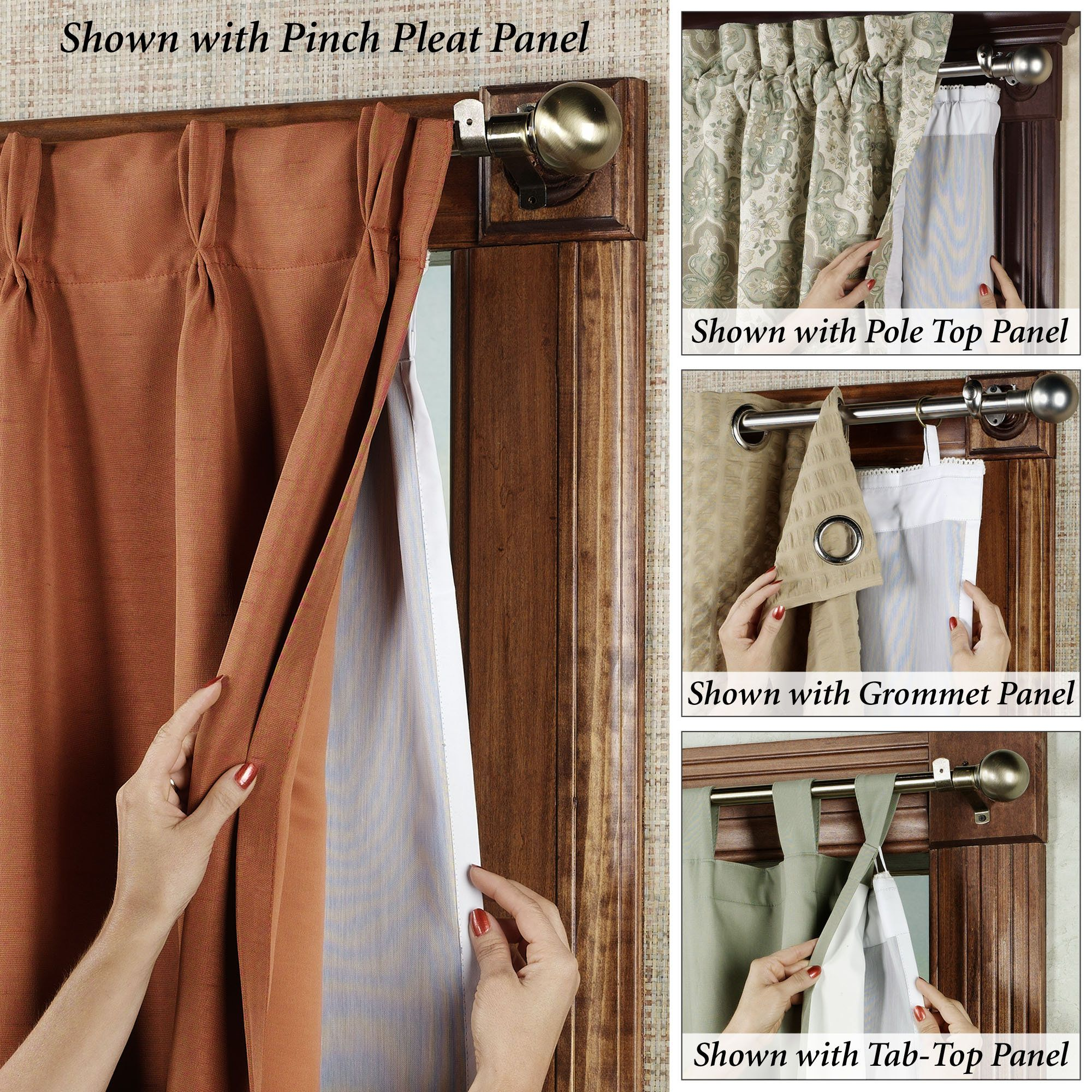 Ultimate Thermalogic Blackout Curtain Panel Liner Fits Perfectly To All Types Of Curtains