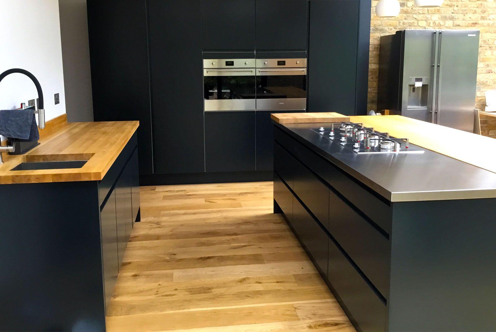 An Innova Luca Bespoke Painted Handleless Kitchen New