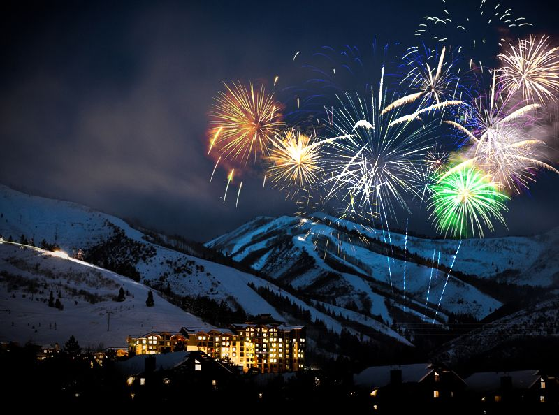 New Year's Eve Fireworks at Canyons Resort | Park City, UT ...