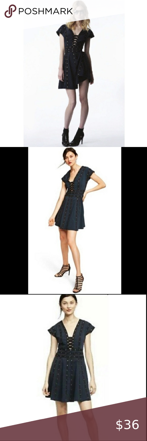 Zac Posen For Target Snap Dress In 2021 Zac Posen Cocktail Dress Strapless Dresses Short Asymmetrical Black Dress [ 1740 x 580 Pixel ]
