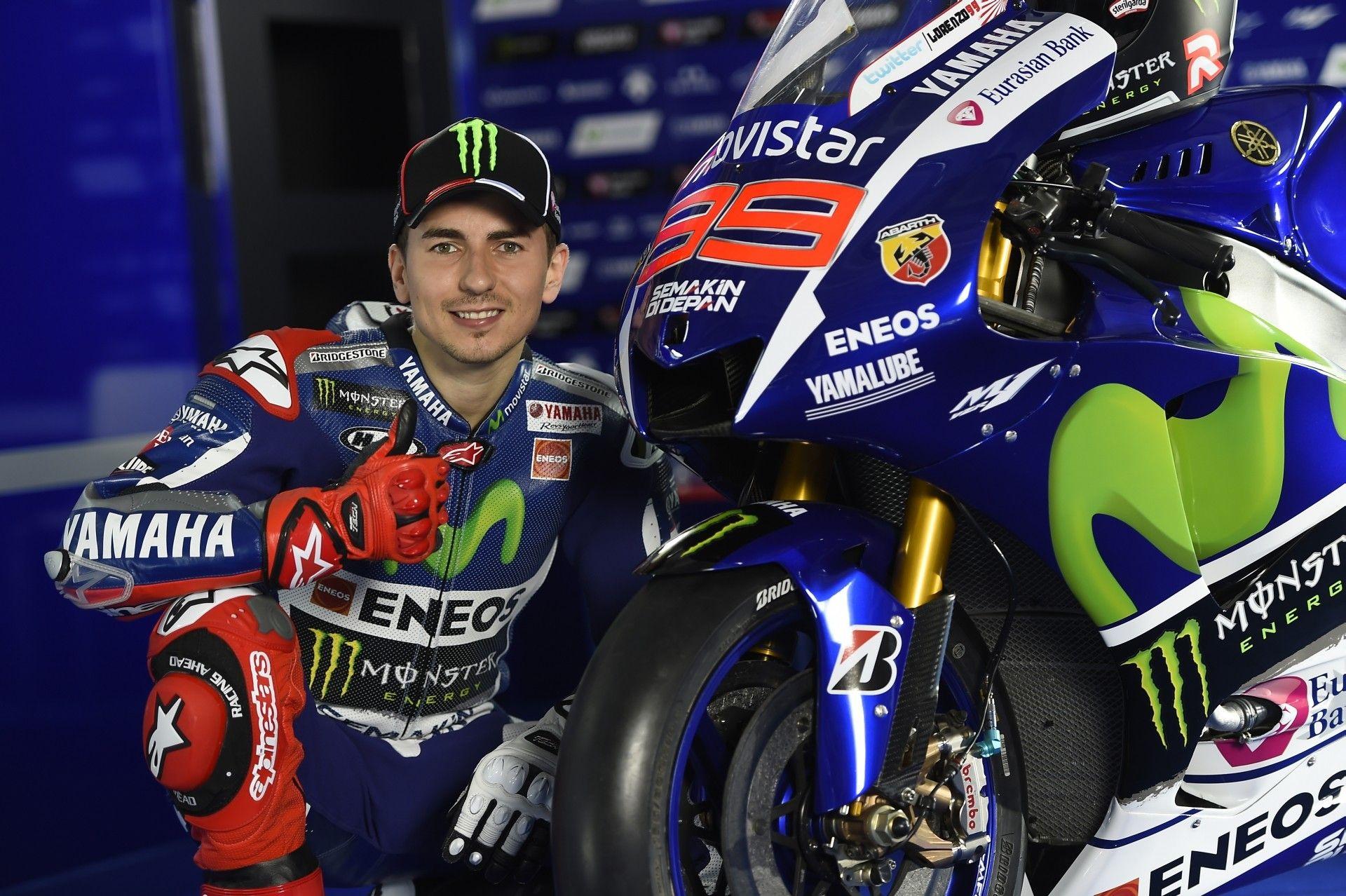 Jorge Lorenzo Motogp 2015 Series Yamaha Motogp Yamaha Motorcycle News