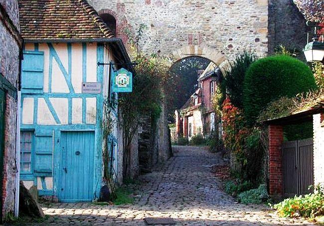 Gerberoy Village francais, Beaux villages, France