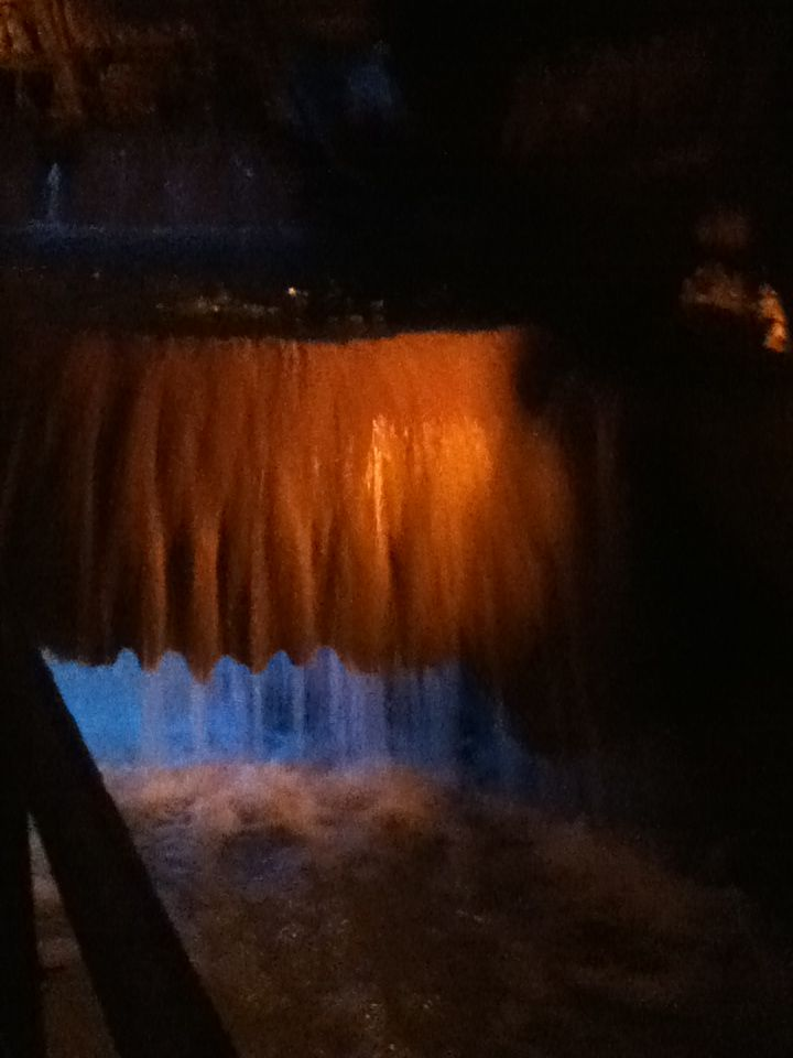 Waterfall thing at Squire Boon