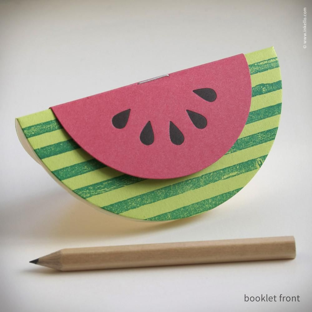 Watermelon Booklets (#351)