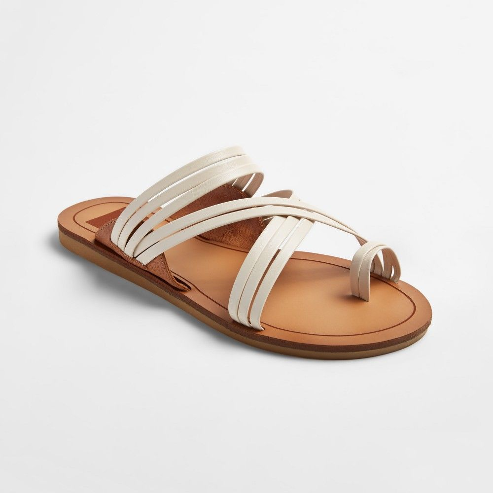 d9926f0ba Women s dv Marta Slide Sandals - White 9.5