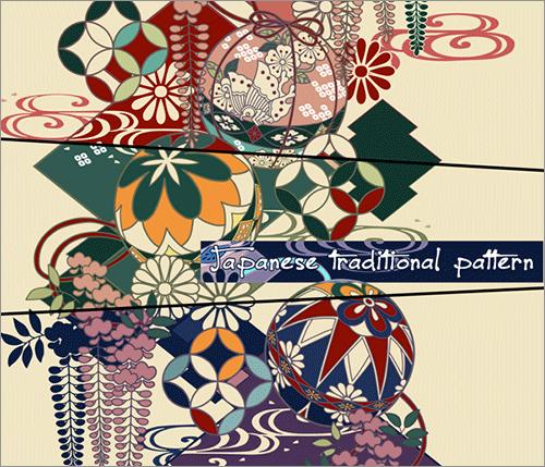 Œ�柄素材のサンプル Textiles Pinterest Japanese Patterns