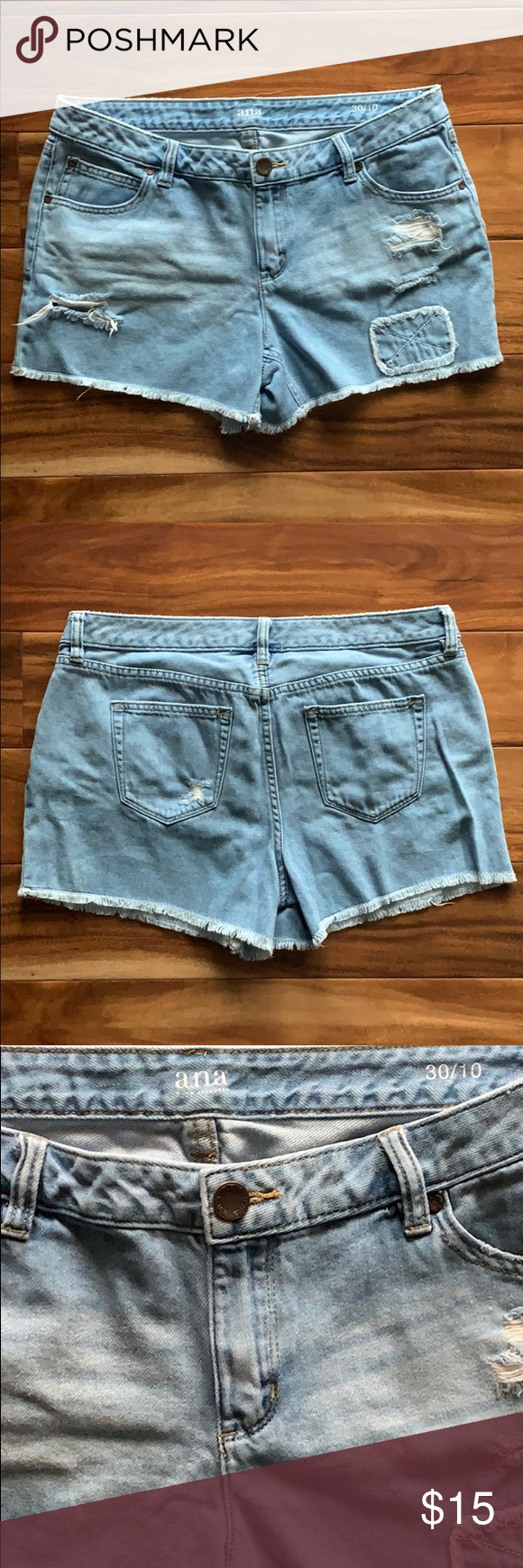 A.N.A Denim Cutoff Shorts A.N.A. Denim Shorts Bottom has cutoff fringe look Size 10 Has slight stretch Good condition a.n.a Shorts Jean Shorts #denimcutoffshorts A.N.A Denim Cutoff Shorts A.N.A. Denim Shorts Bottom has cutoff fringe look Size 10 Has slight stretch Good condition a.n.a Shorts Jean Shorts #denimcutoffshorts