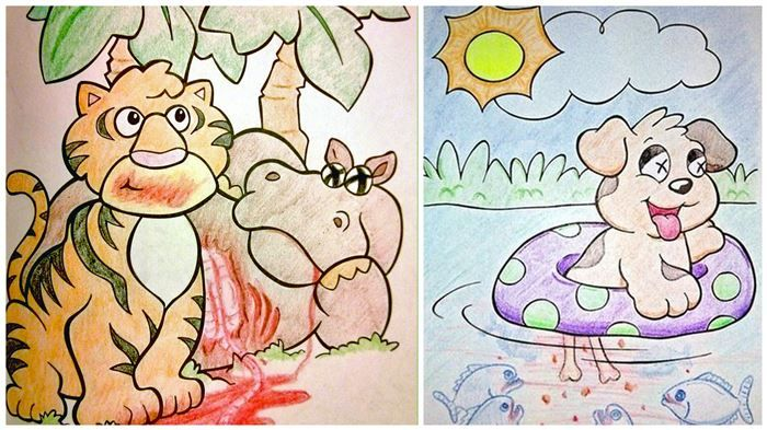12 Disturbing Coloring Book Corruptions