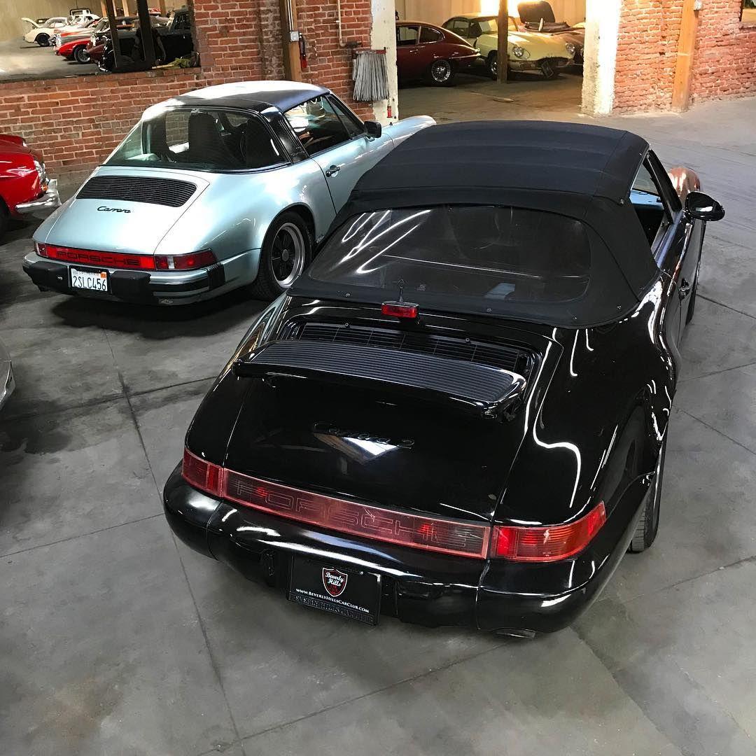 Porsche Carrera Targa & convertible @beverlyhillscarclub on ...