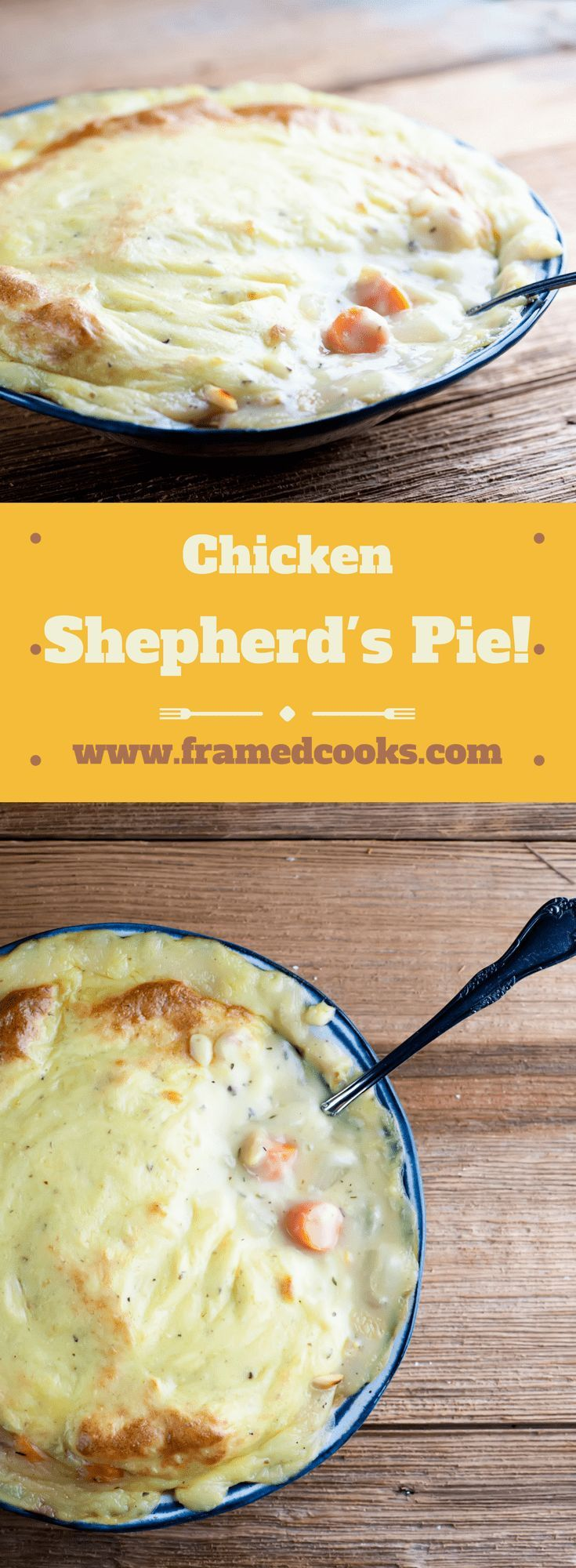 Chicken Shepherd's Pie #shepardspie