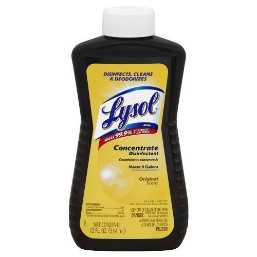 Lysol Concentrate The Little Brown Bottle Lysol Brown Bottles Cleaning