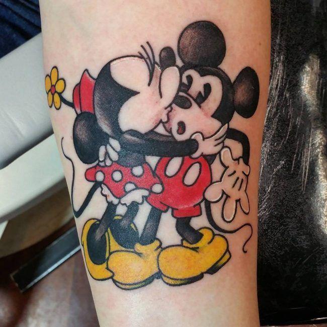 Mickey And Minnie Mouse Tattoos Minnie Pinterest Tattoos